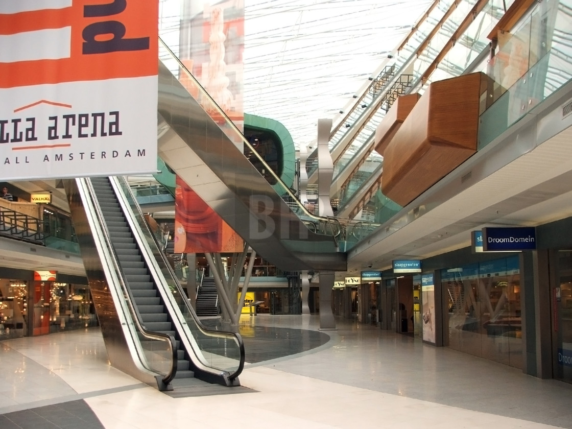 """""""Woonmall Villa ArenA, Amsterdam"""" stock image"""