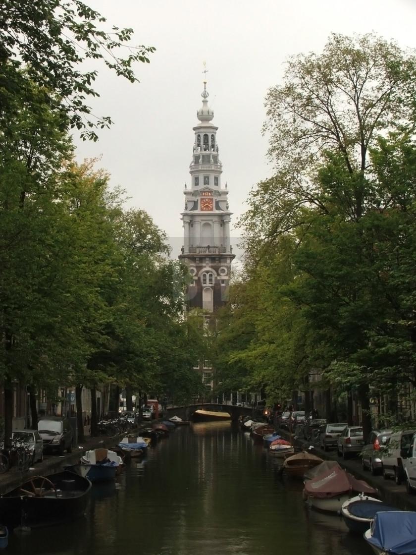 """""""Zuiderkerk, Amsterdam"""" stock image"""