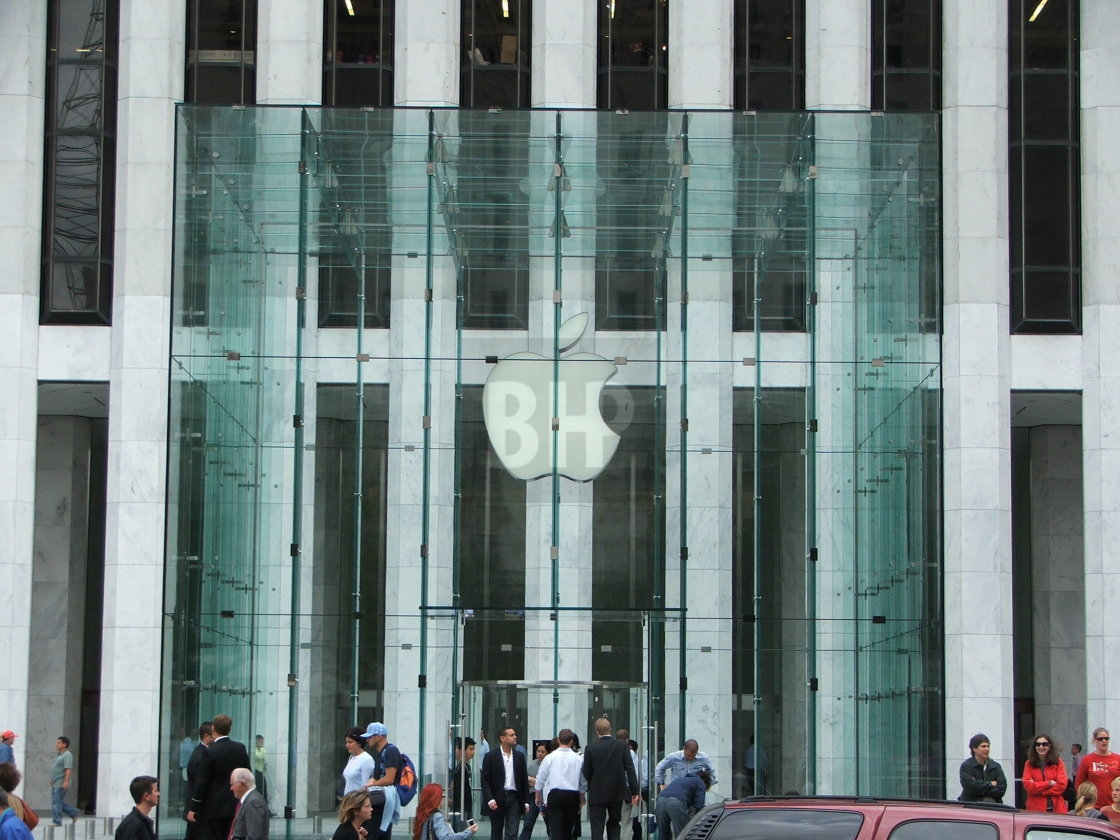 """Apple Store, New York City"" stock image"