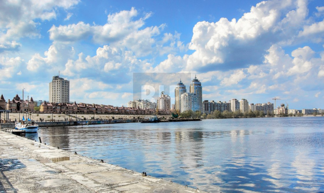 """Obolon District, Kyiv, Ukraine"" stock image"