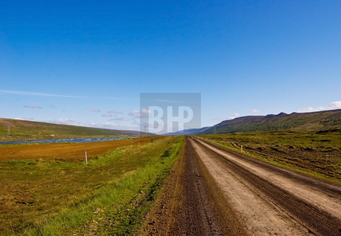 """""""Road to Nowhere"""" stock image"""