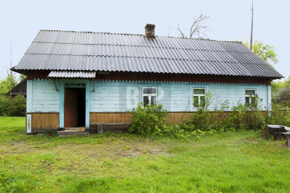 """Village House in Ukraine"" stock image"