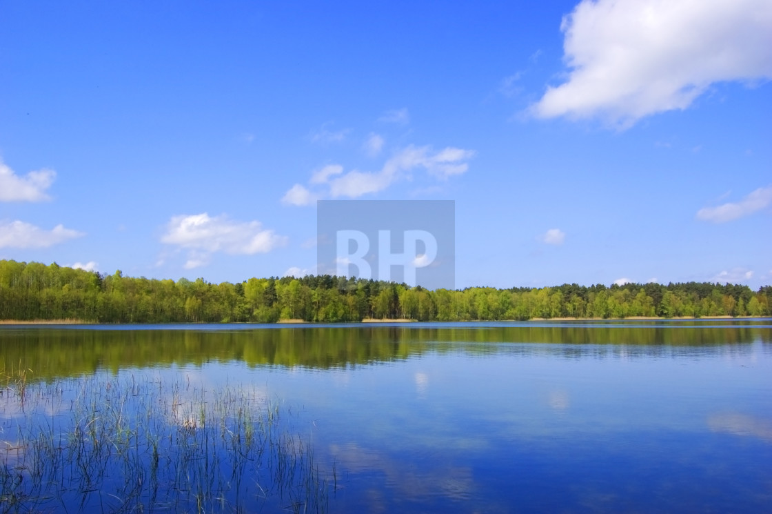 """Ukrainian Lake"" stock image"