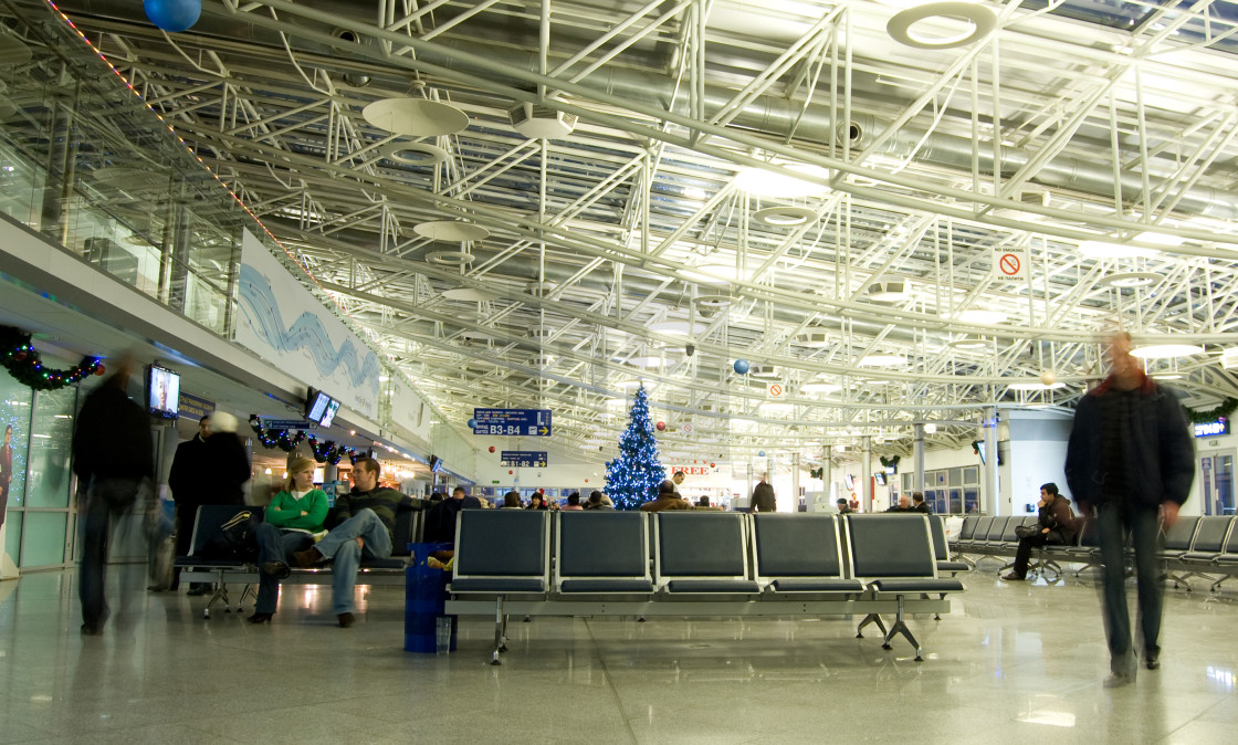 """Boryspil International Airport, Kyiv, Ukraine"" stock image"