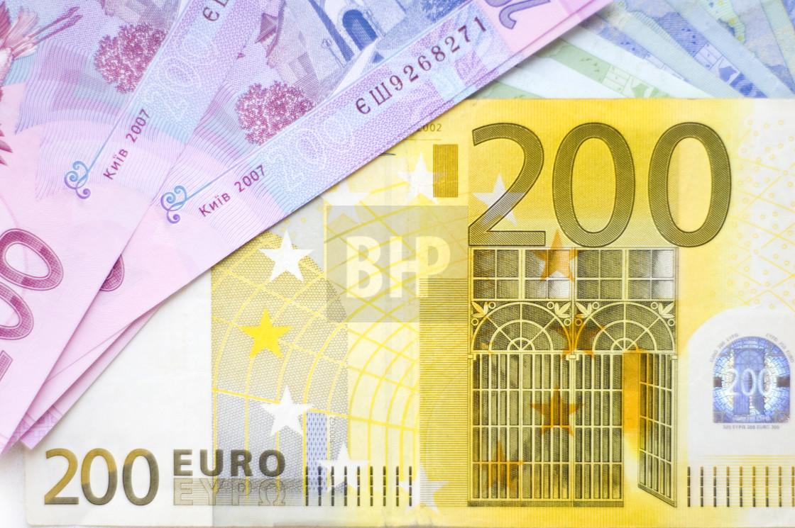 """Euro Banknotes"" stock image"