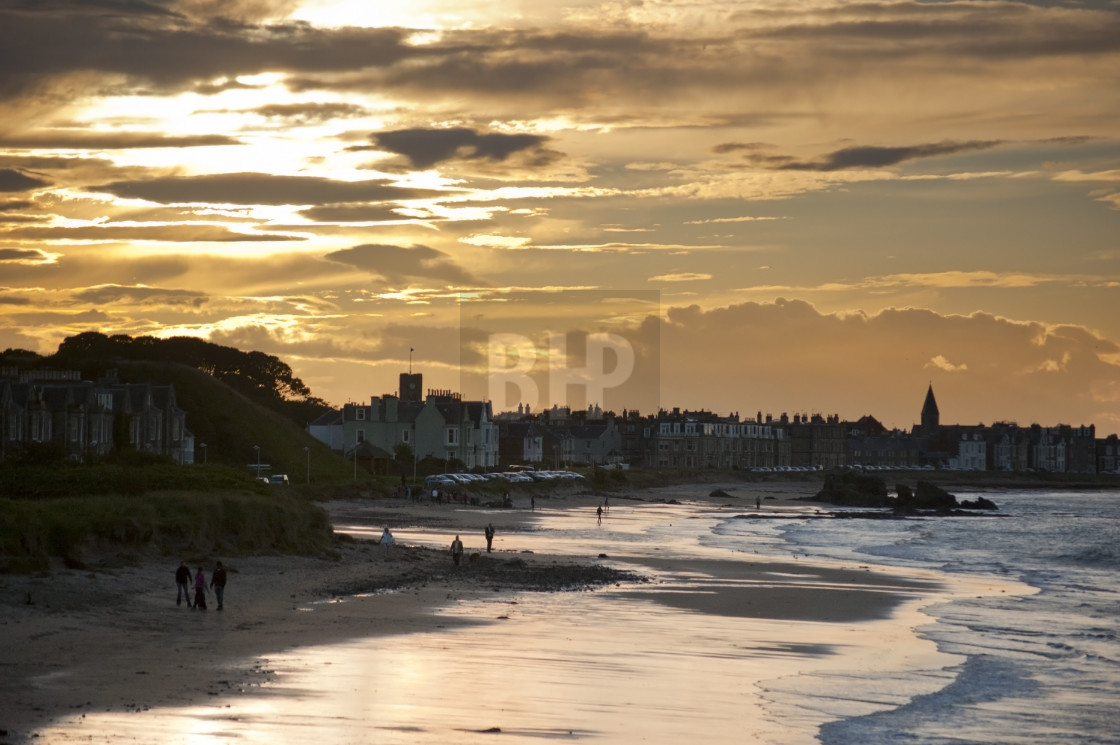 """North Berwick"" stock image"