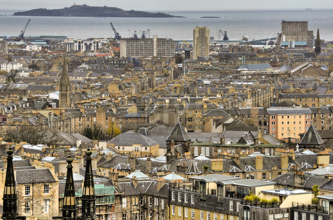 """Leith, Edinburgh"" stock image"