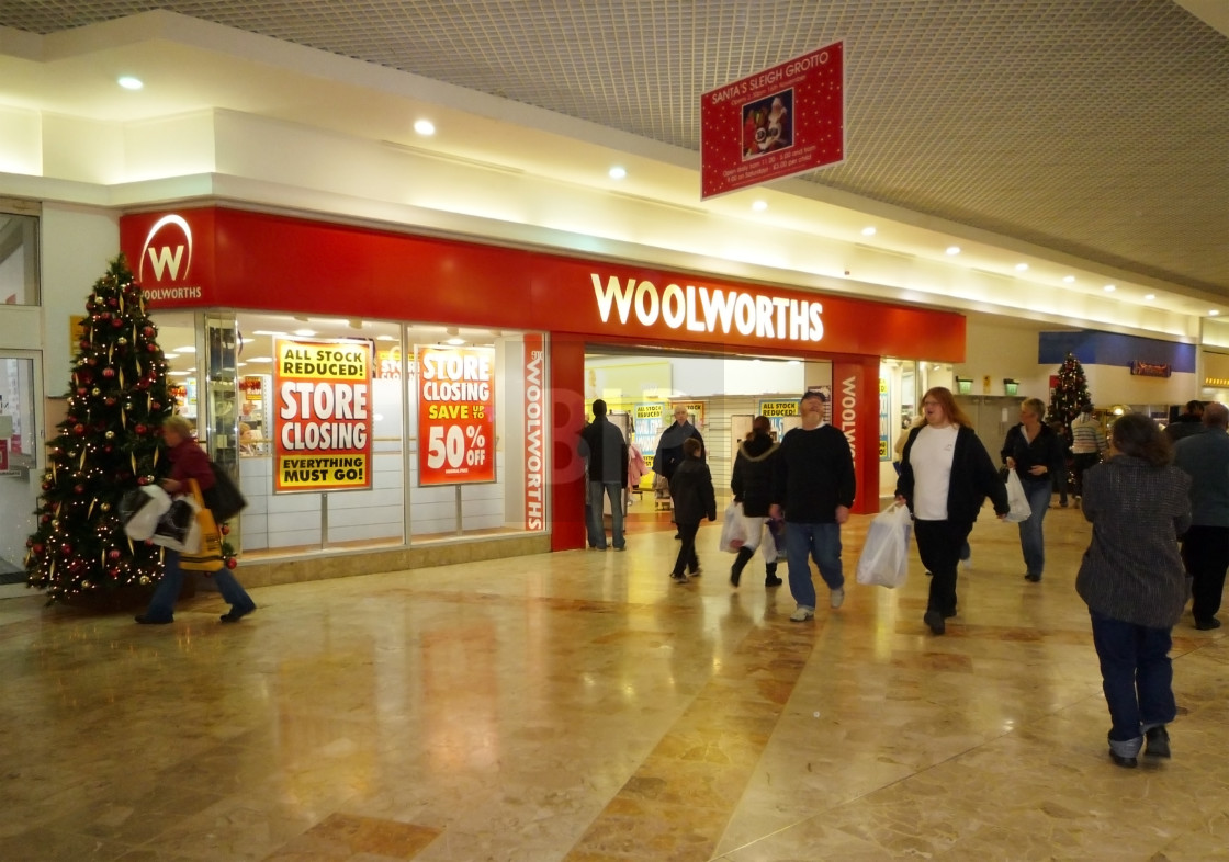 """""""Woolworths Store"""" stock image"""