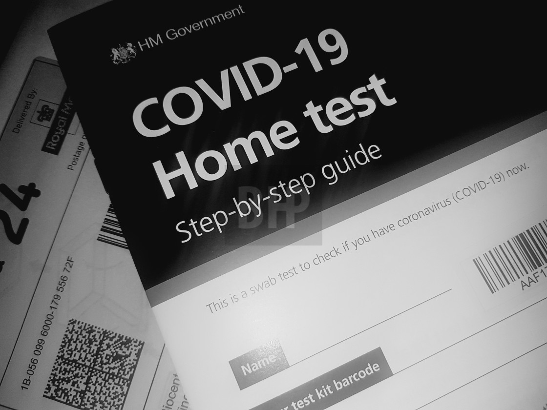 """COVID-19 Home Test"" stock image"