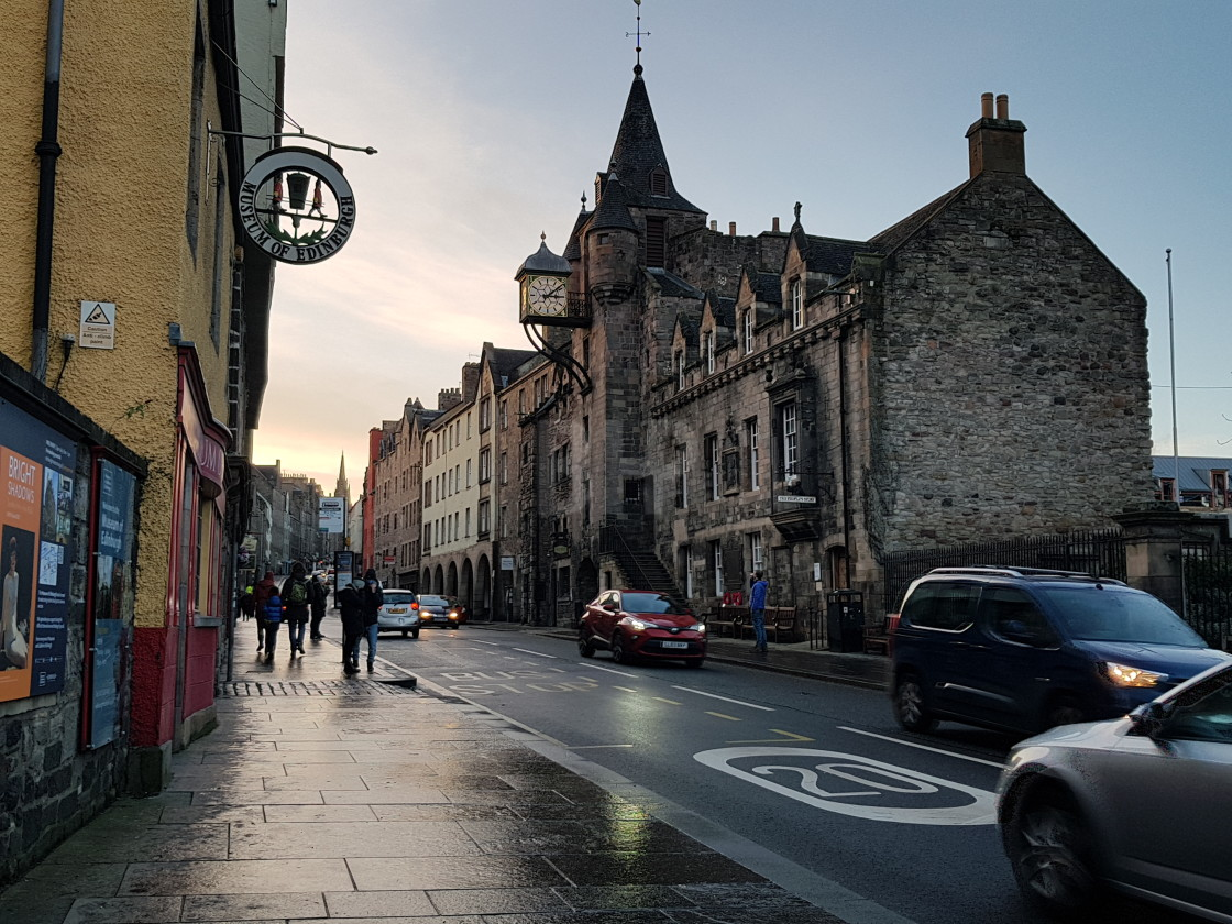 """Royal Mile, Edinburgh"" stock image"