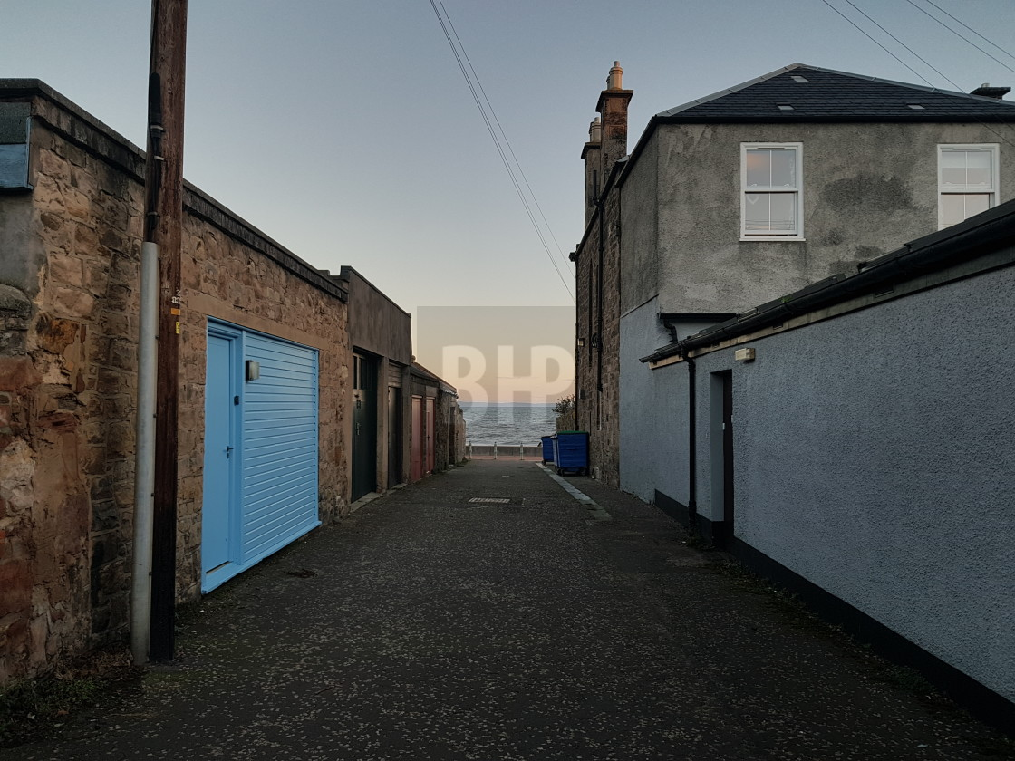 """Portobello, Edinburgh"" stock image"