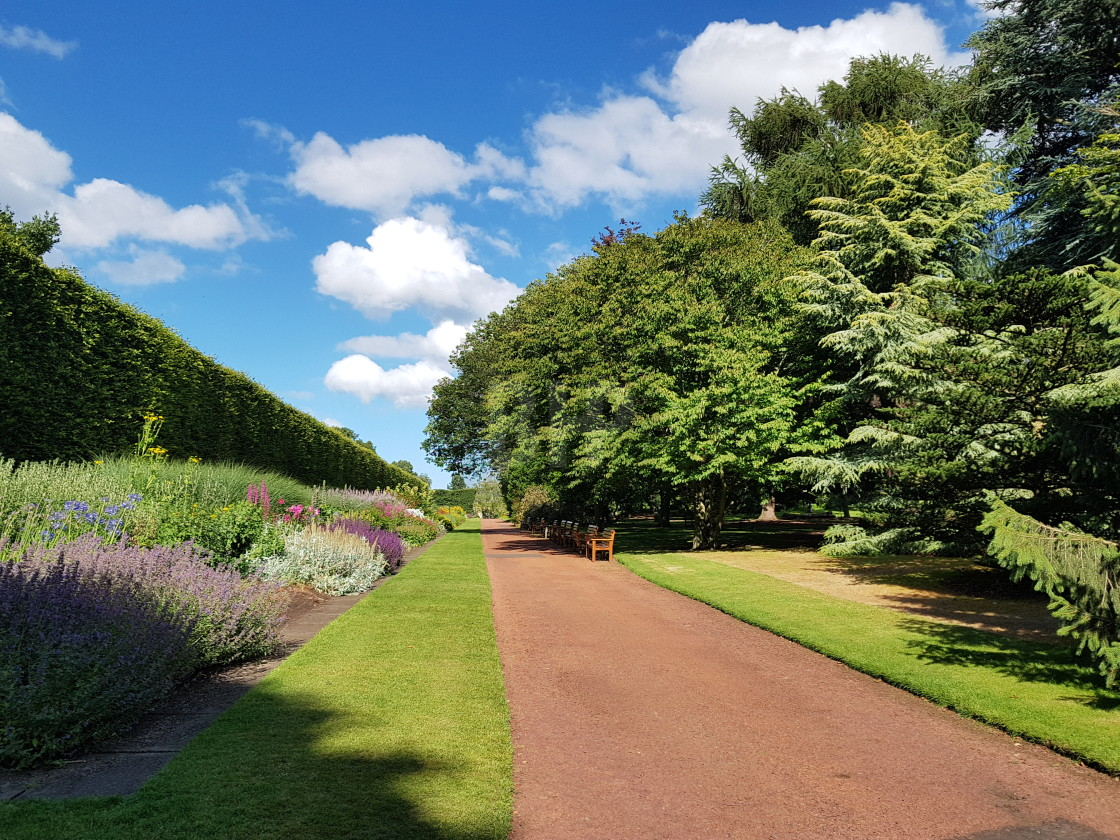 """Royal Botanic Gardens, Edinburgh"" stock image"