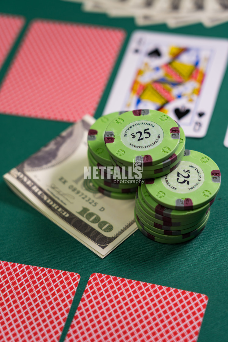 """Poker game royal flush"" stock image"