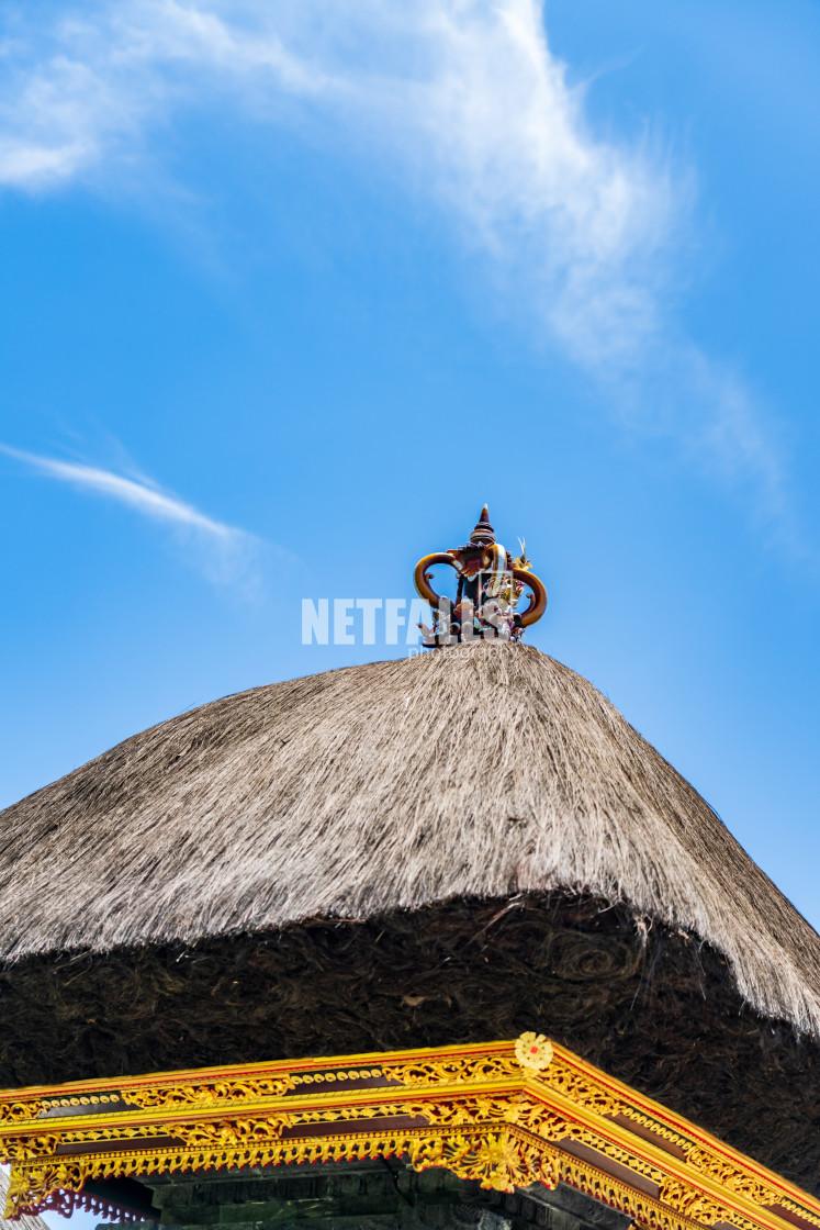 """Temple in Kuta Bali"" stock image"