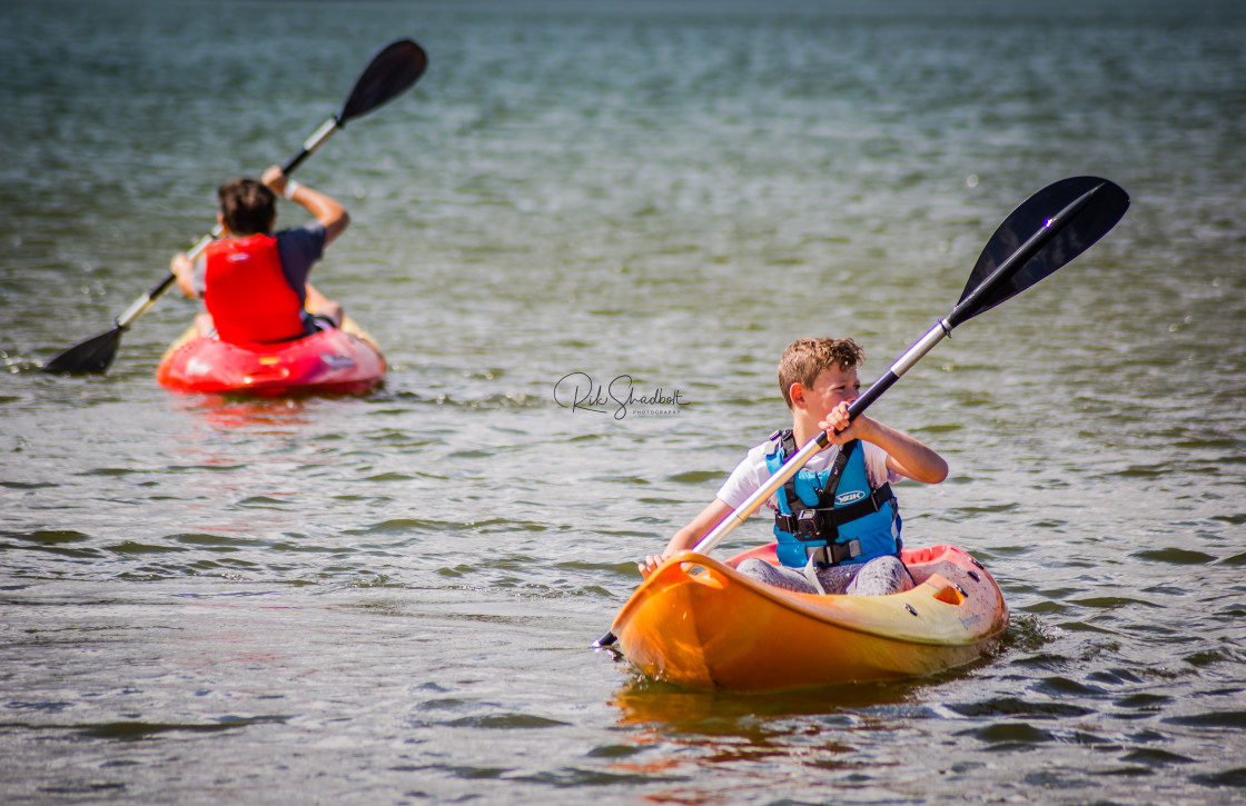 """Kayak Harmony"" stock image"