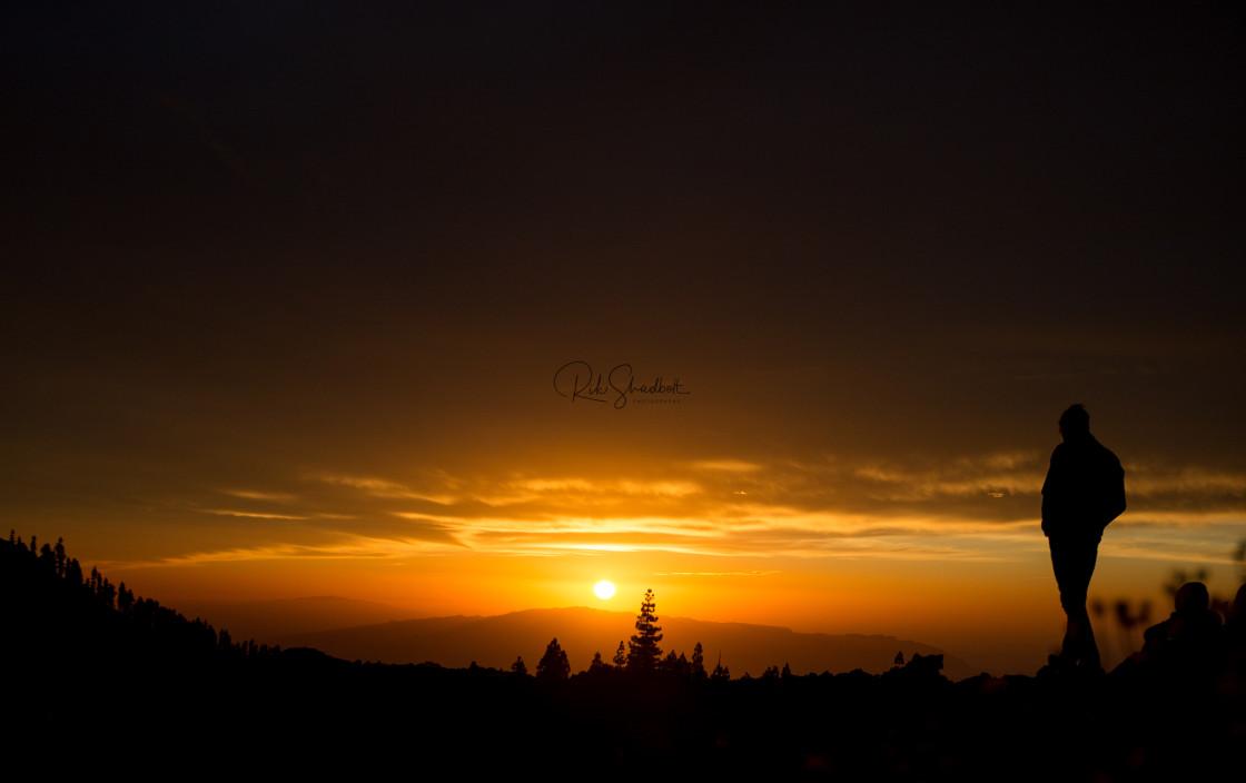 """Serene Sunset"" stock image"
