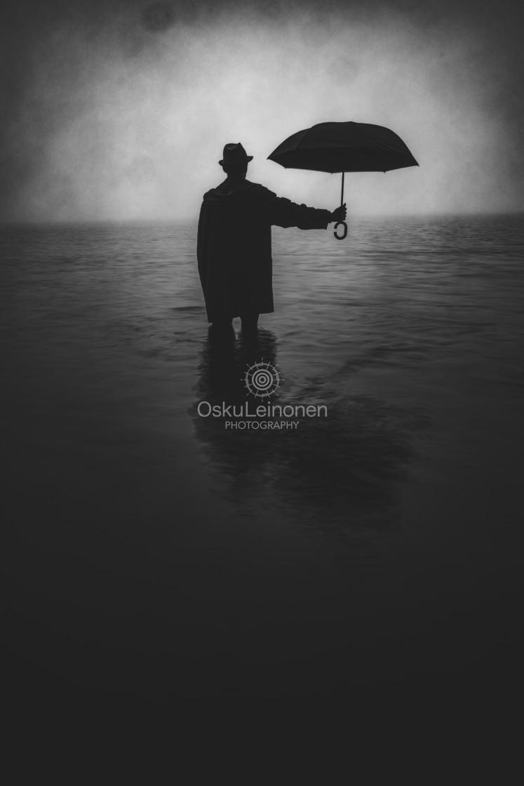 """Form From The Mist IX (Umbrella)"" stock image"