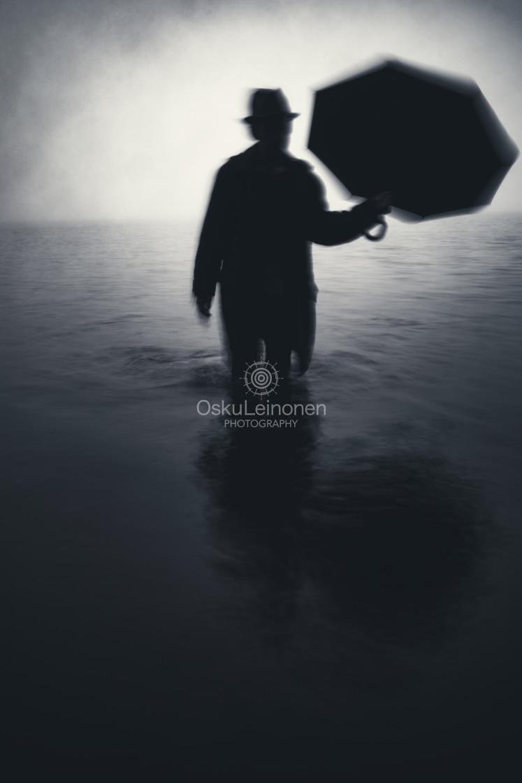 """Form From The Mist XVI (Umbrella)"" stock image"