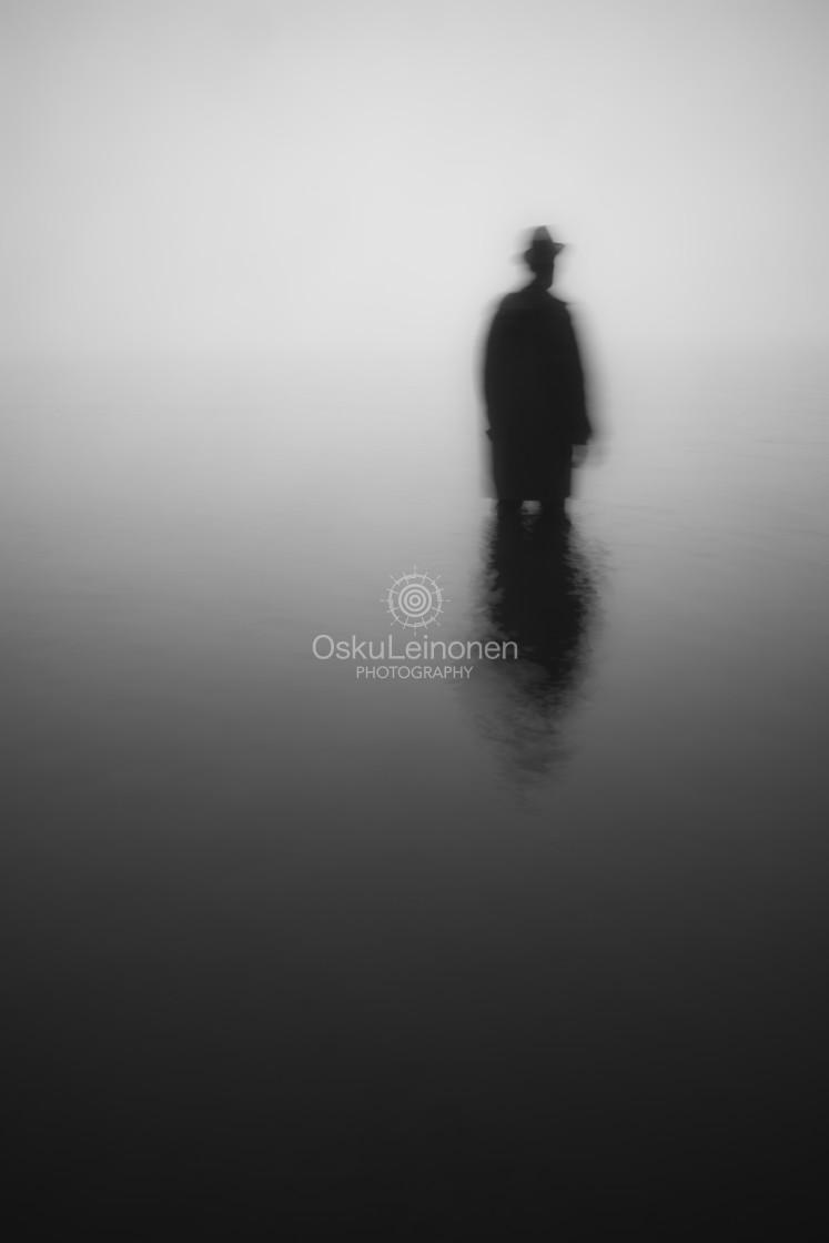 """Life II (Blurred Silhouette)"" stock image"