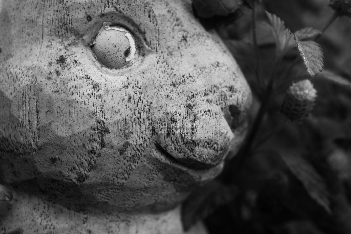 """""""Concrete Bunny III (Myths)"""" stock image"""