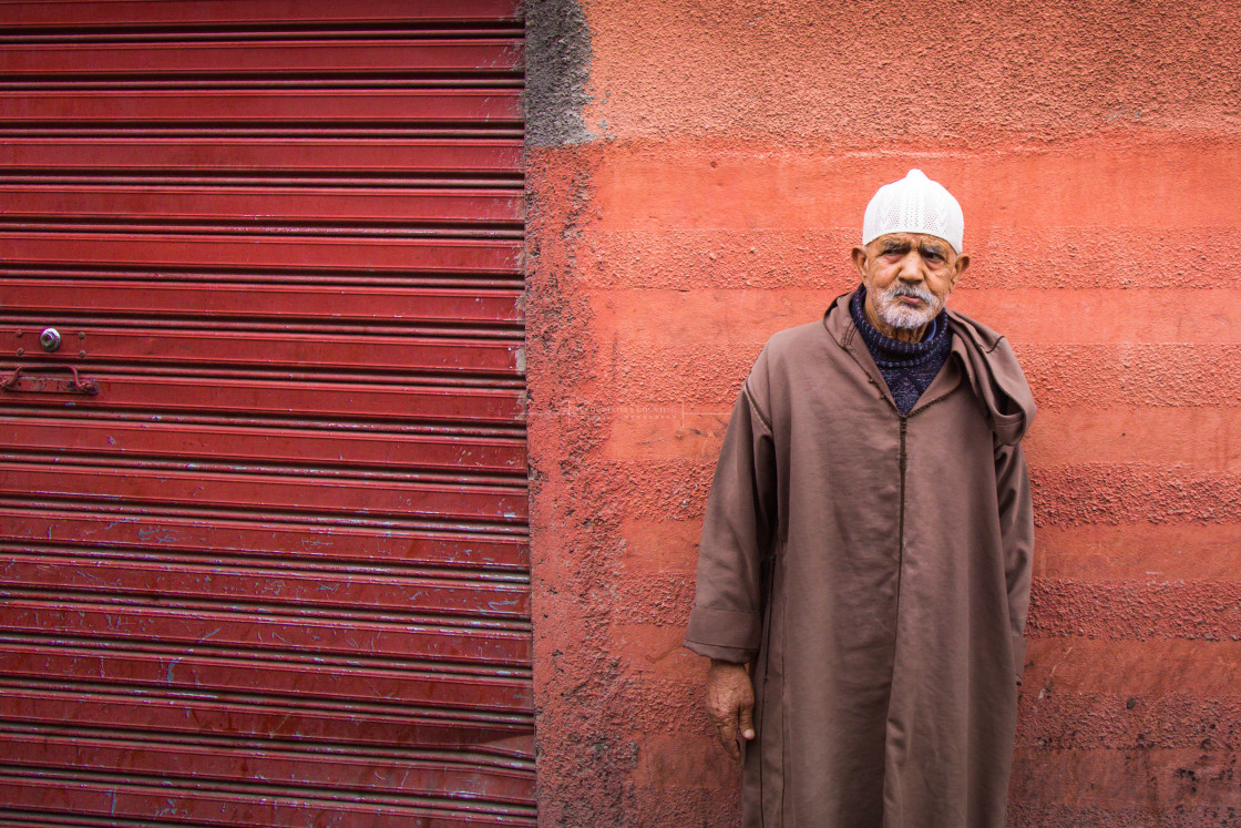 """""""People of Morocco, Africa"""" stock image"""