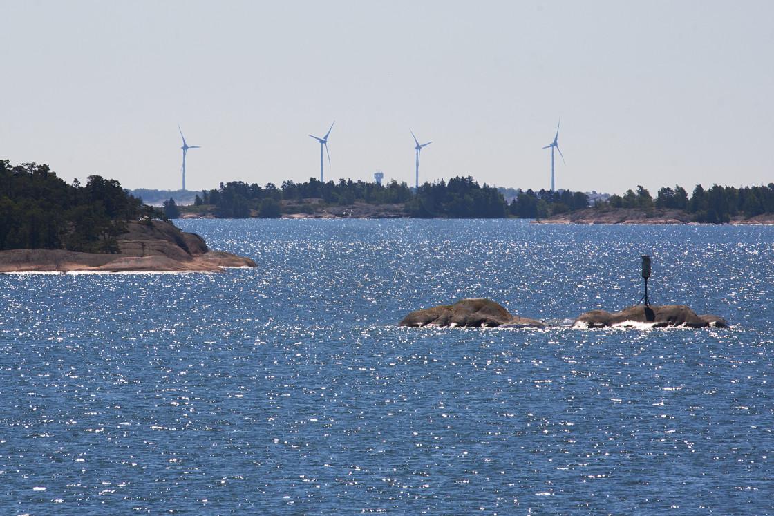 """Kobba Klintar Aland Island"" stock image"