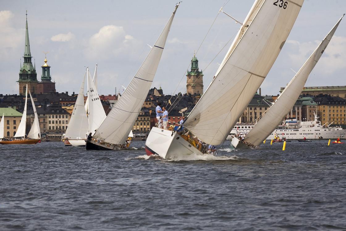 """Sailing Stockholm"" stock image"