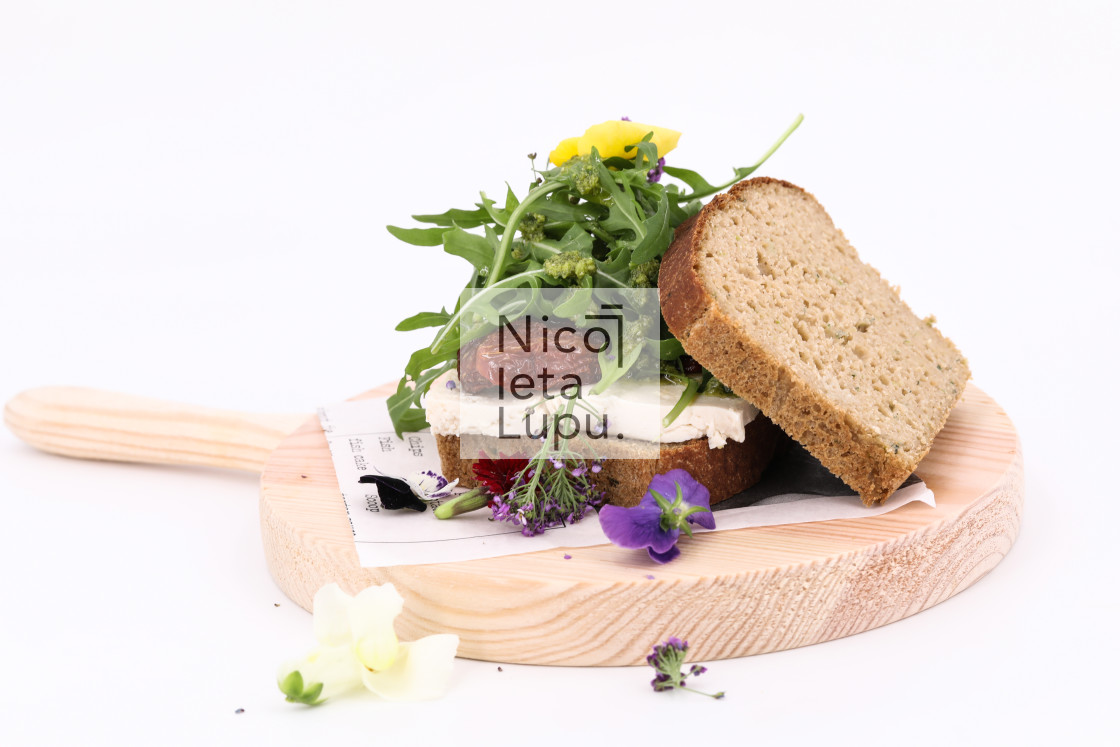 """Healthy sandwiches"" stock image"