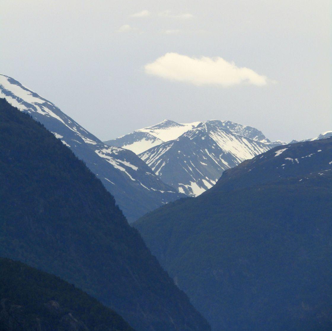"""Stranda, Norway mountain views"" stock image"