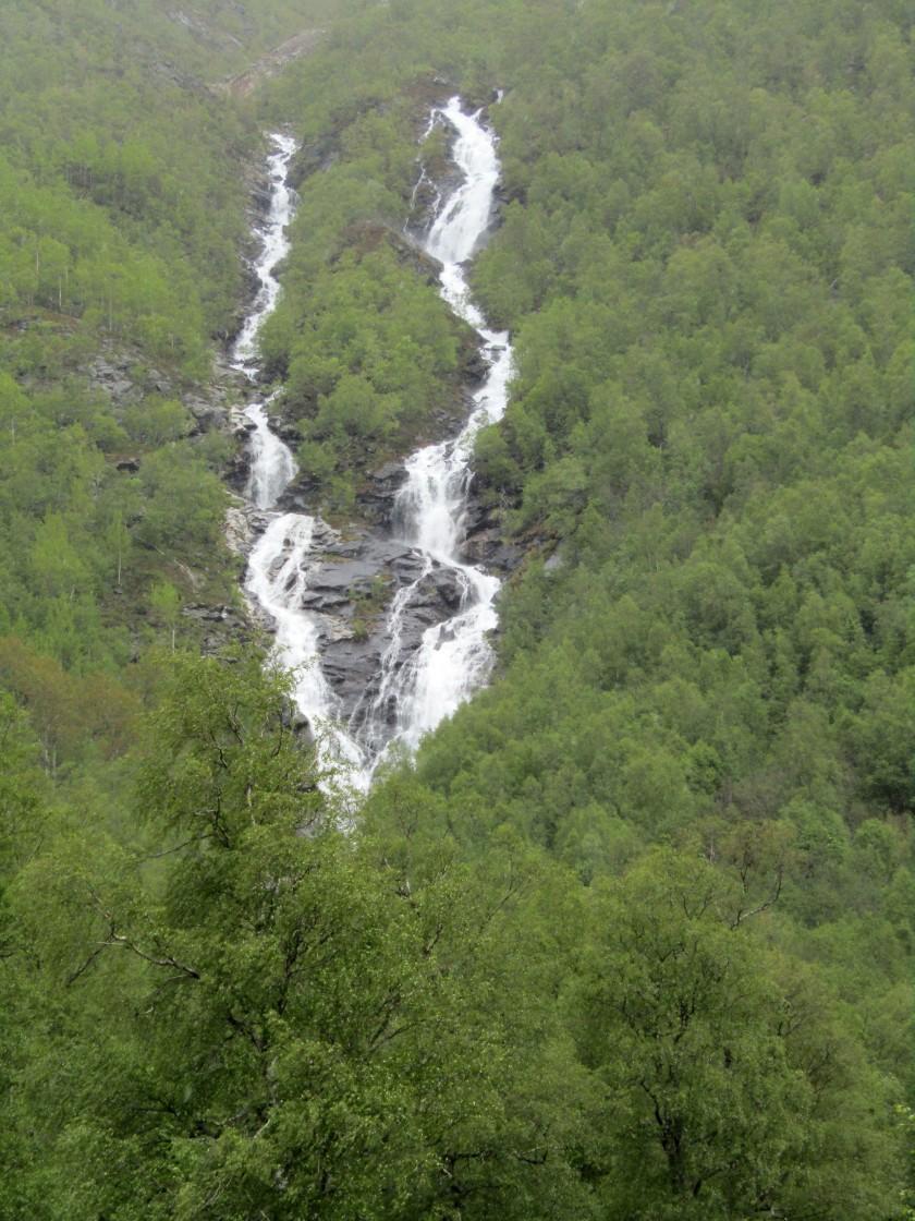"""""""Stranda, Norway waterfall"""" stock image"""