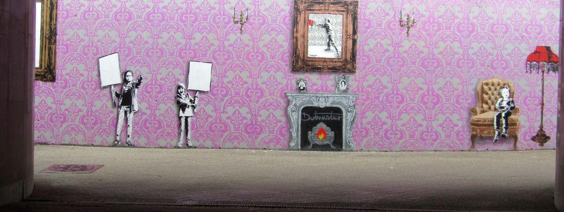 """Stavanger, Norway wall art mural"" stock image"