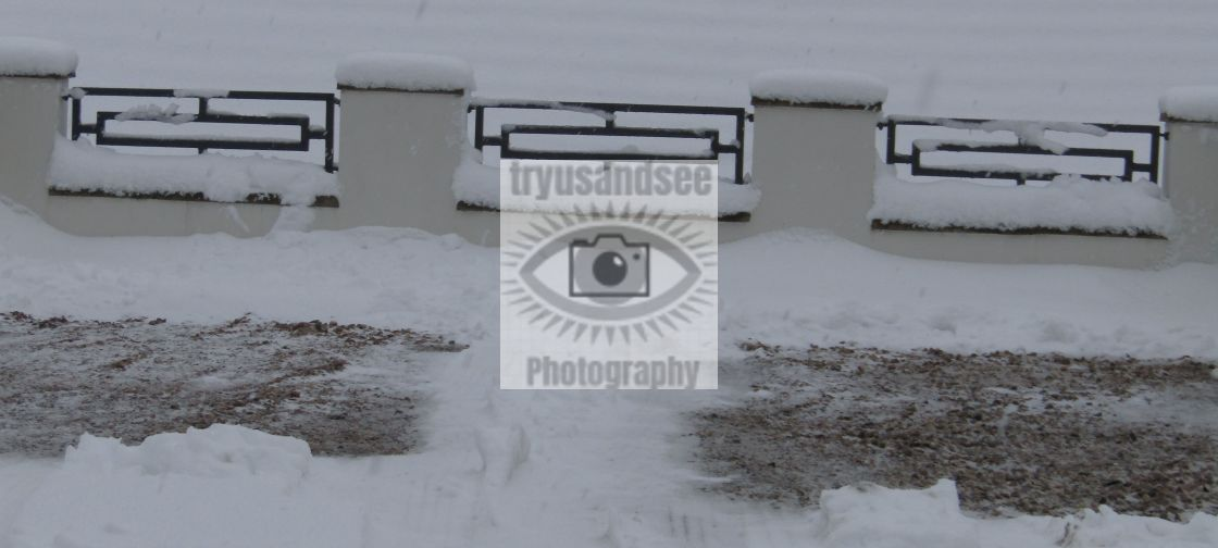 """Snow symmetry"" stock image"