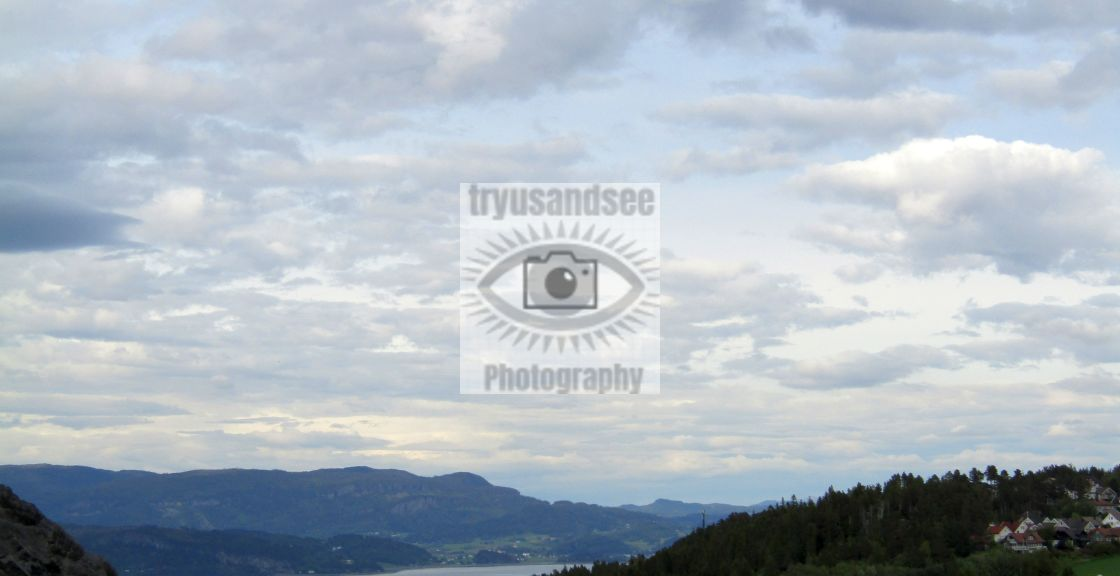 """Norway, Snillfjord mountain view"" stock image"