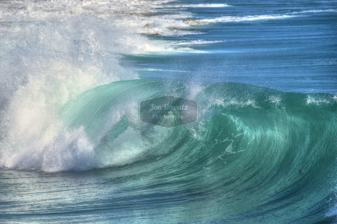 """The Wave"" stock image"