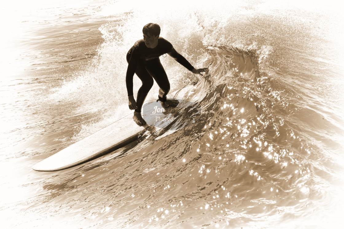 """Surfer"" stock image"