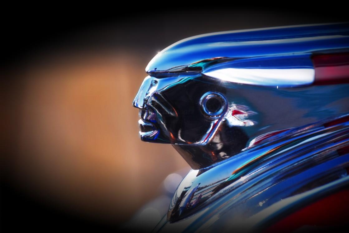 """Pontiac Hood Ornament"" stock image"