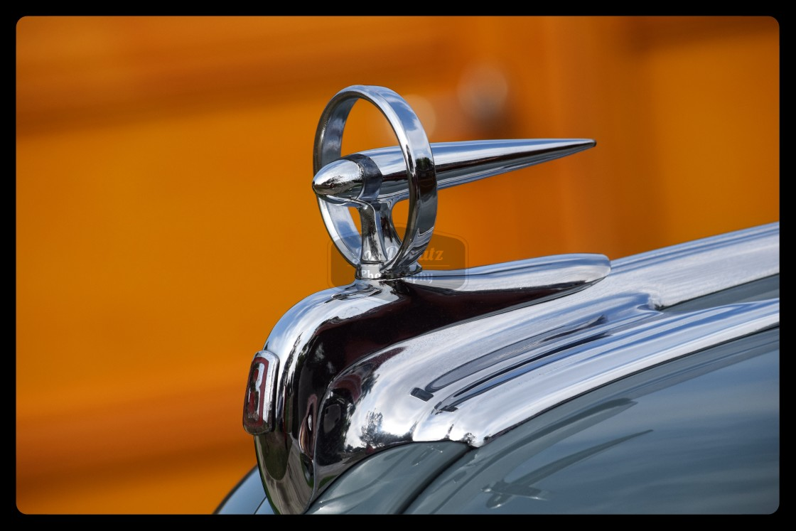 """Buick Hood Ornament"" stock image"