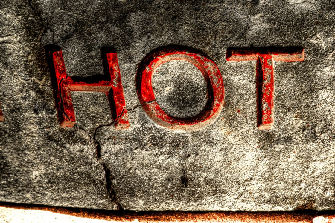 """Hot"" stock image"