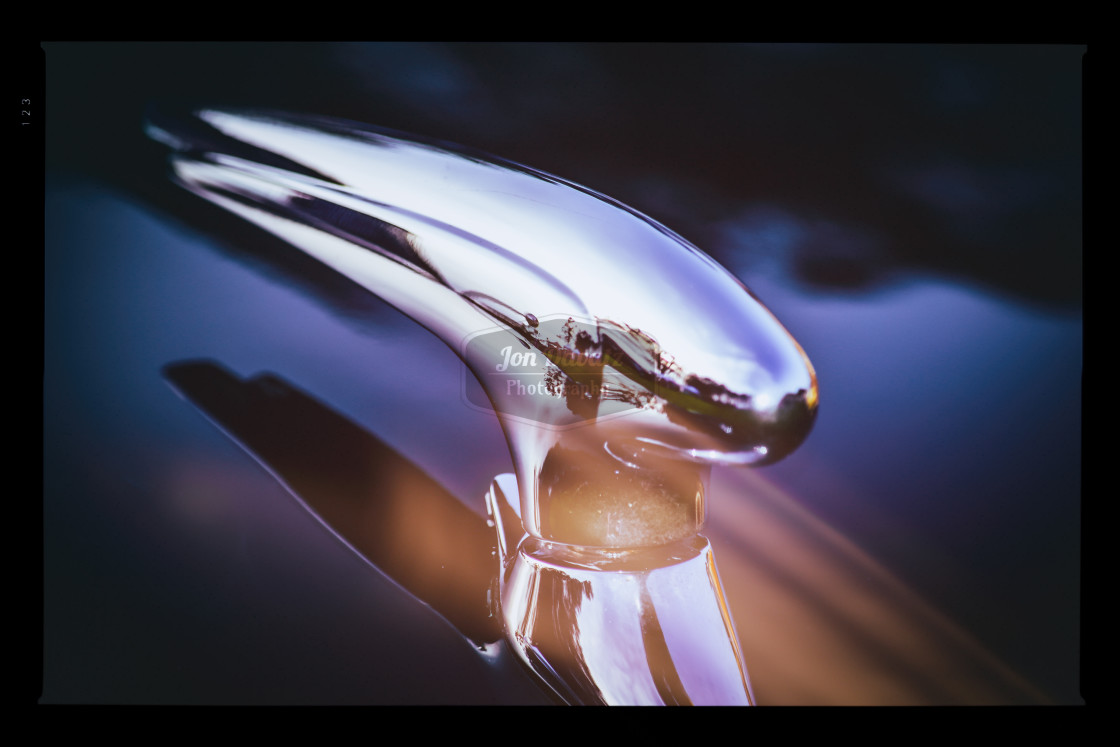"""Vintage Hood Ornament"" stock image"