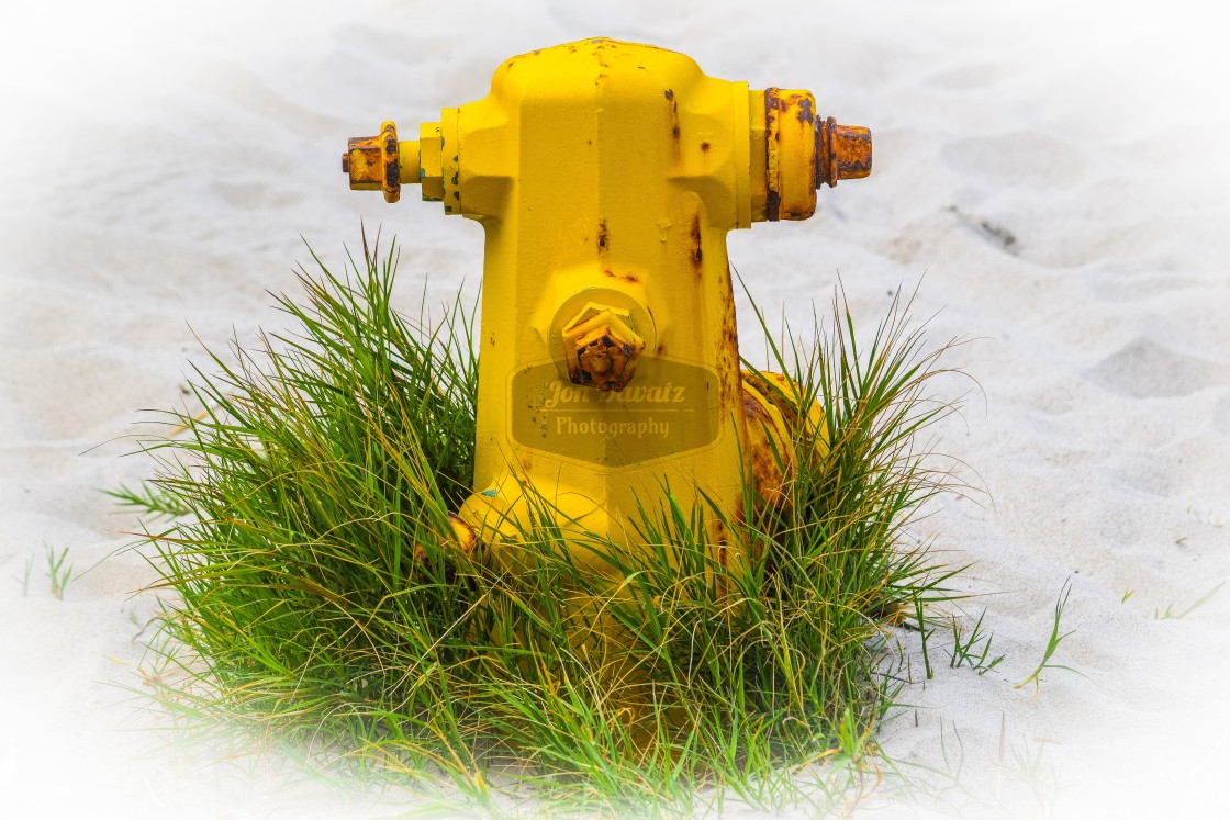 """Yellow Waterhydrant"" stock image"