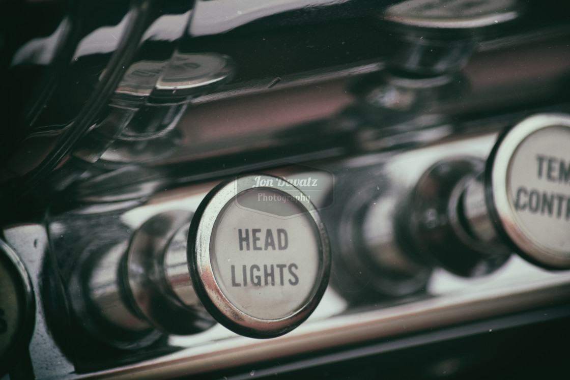 """Headlight Knob"" stock image"