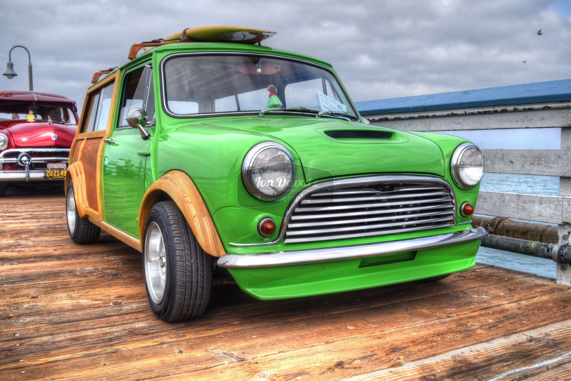 """Mini Clubman Woody Edition"" stock image"