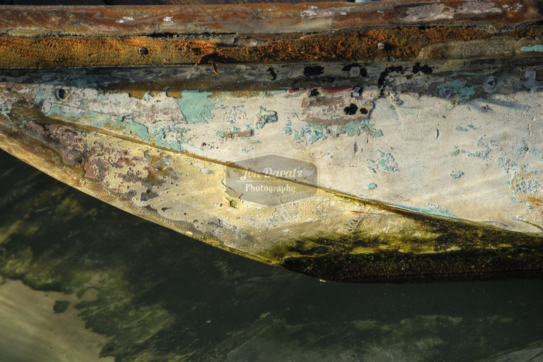 """Old Boat Abstract"" stock image"