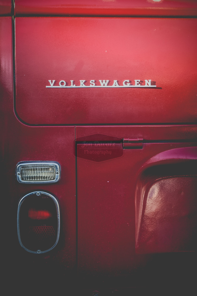 """VW Van Detail"" stock image"