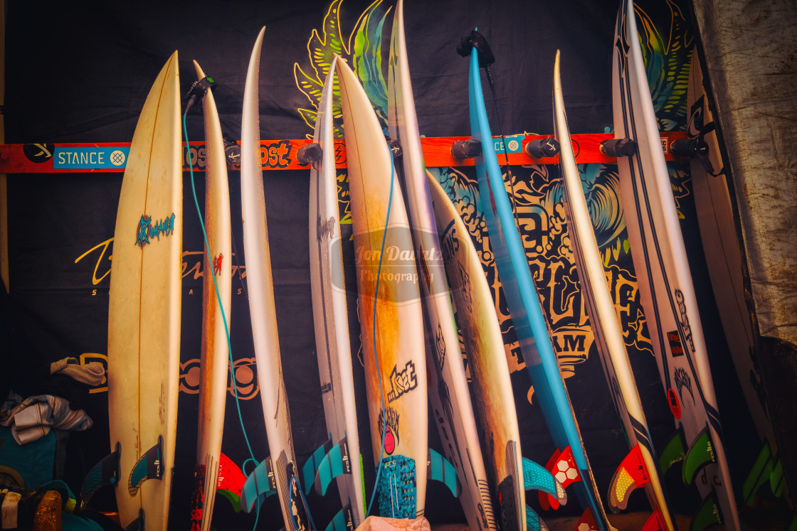 """Surfboards"" stock image"