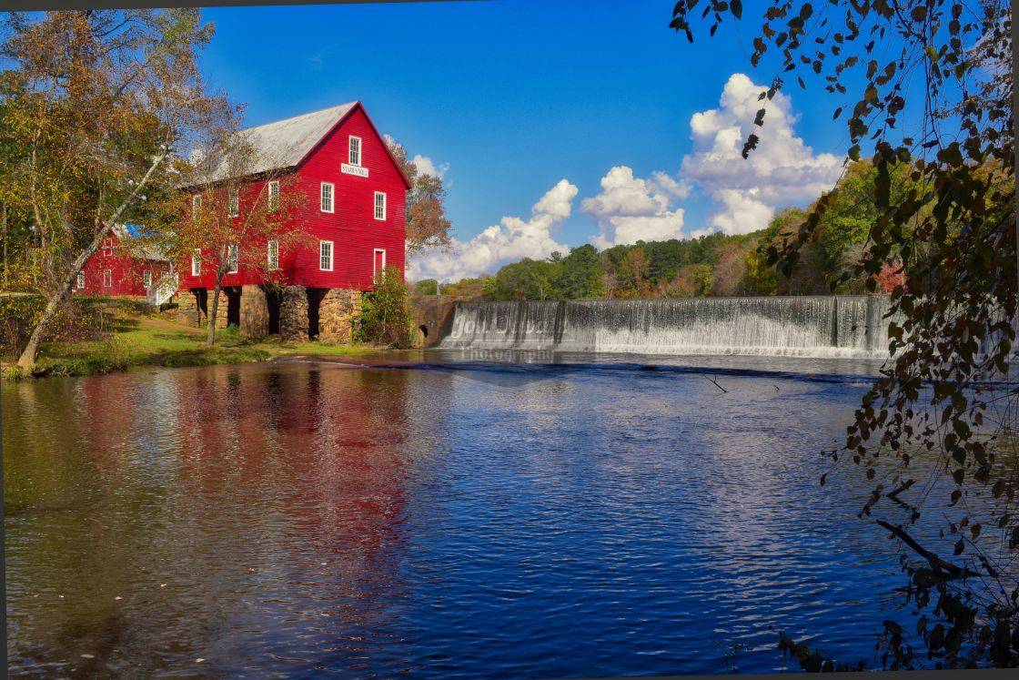 """Starr's Mill - Georgia"" stock image"