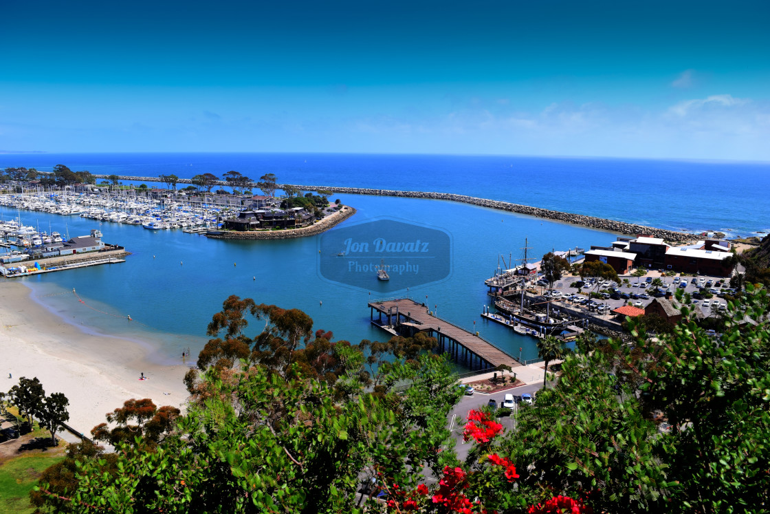 """Dana Point Harbor"" stock image"