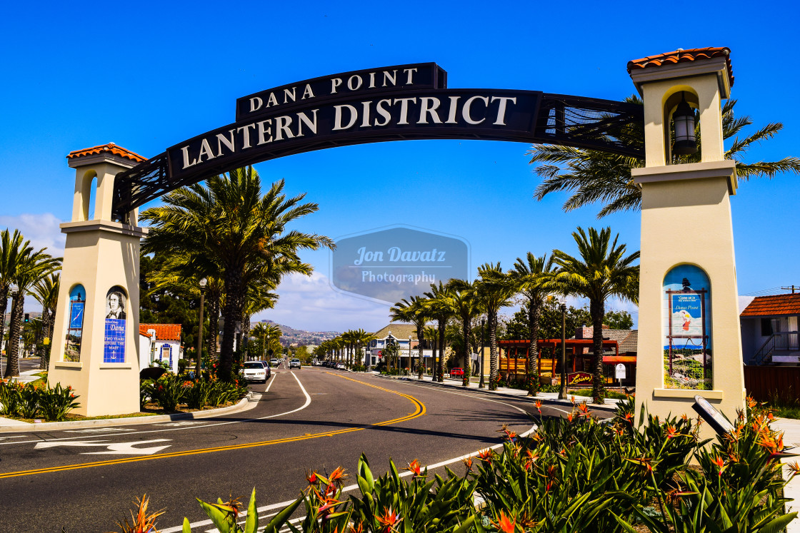 """Dana Point - California"" stock image"