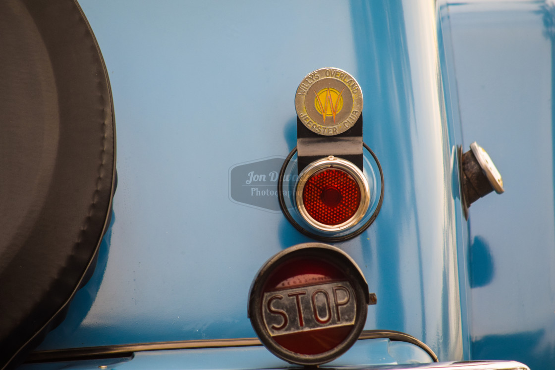 """Willy's Jeep Taillight"" stock image"