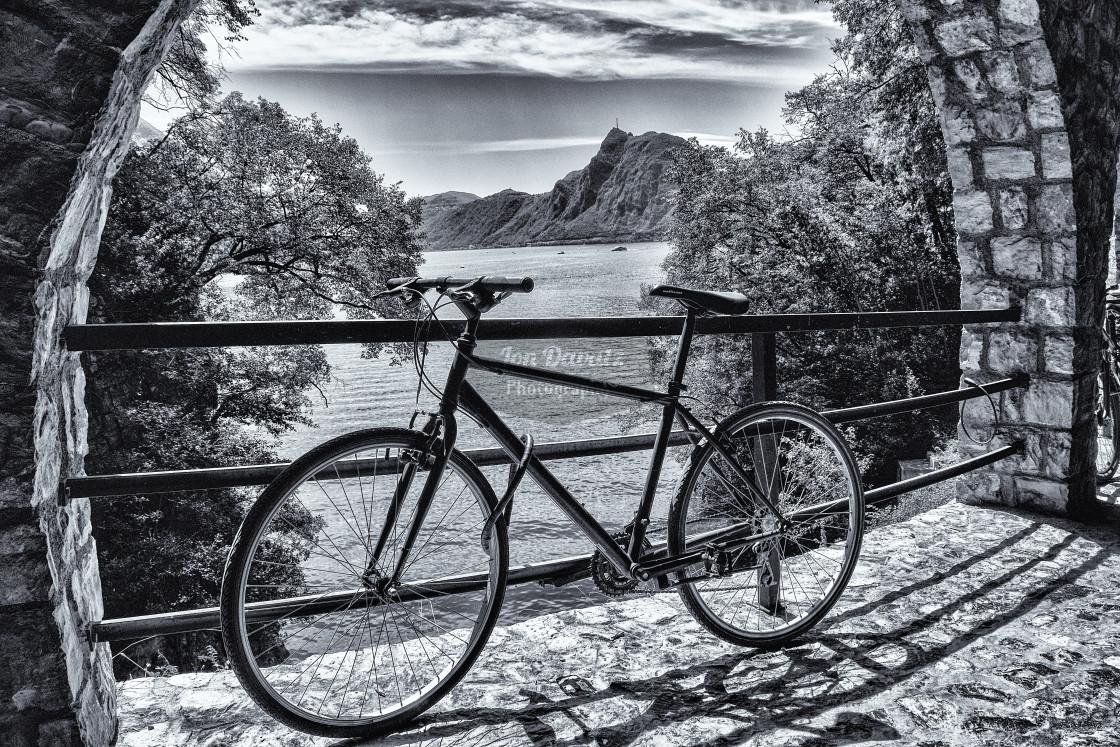 """Monte San Giorgio"" stock image"